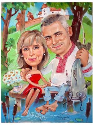 Белорусский романтический шарж