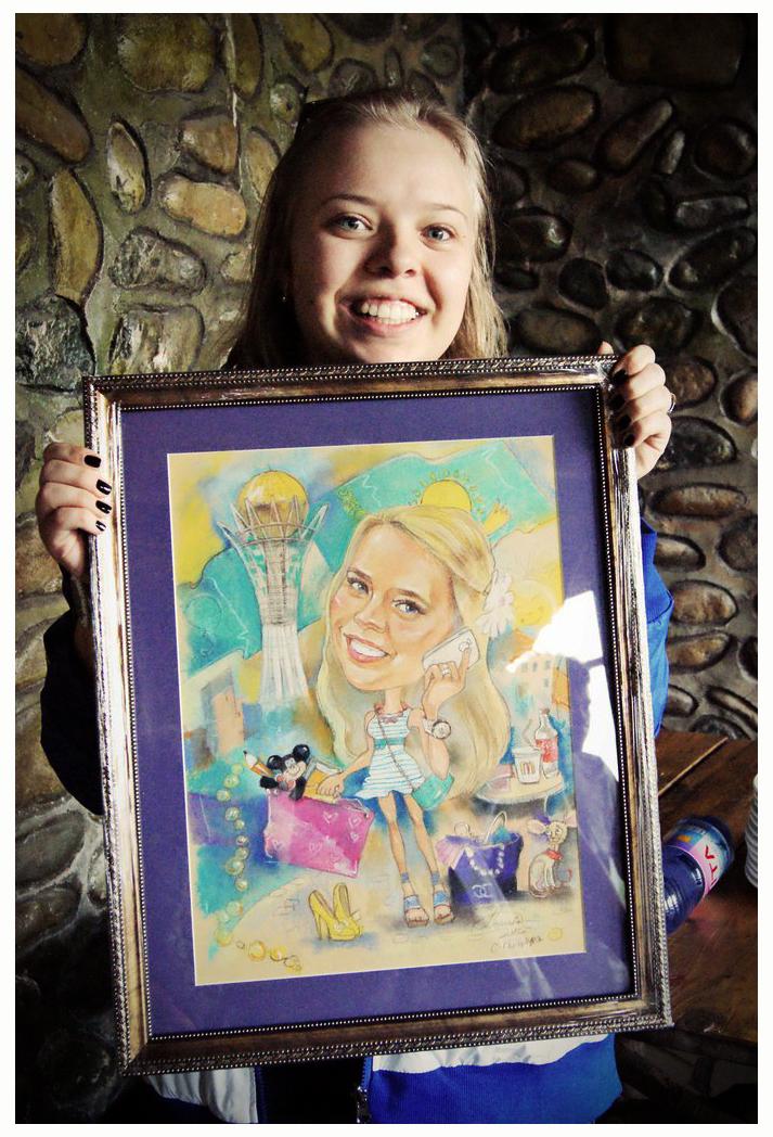 портрет девушки в раме, портреты рязань, портреты спб