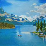 покупка продажа картины горы