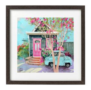 картина пастель, продажа картины, купить картину спб, живопись купить, картин с домиком, картина в детскую комнату