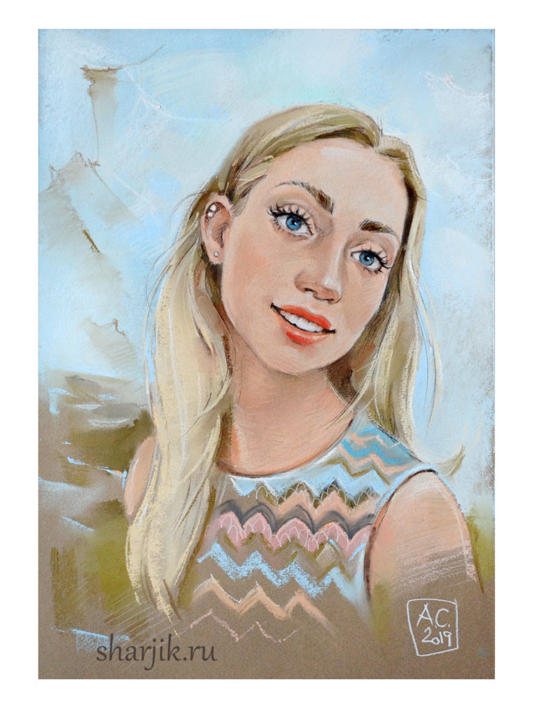 заказать портрет, портрет на заказ, портрет по фото, портрет с фотографии, портрет в Питере, портрет в Москве