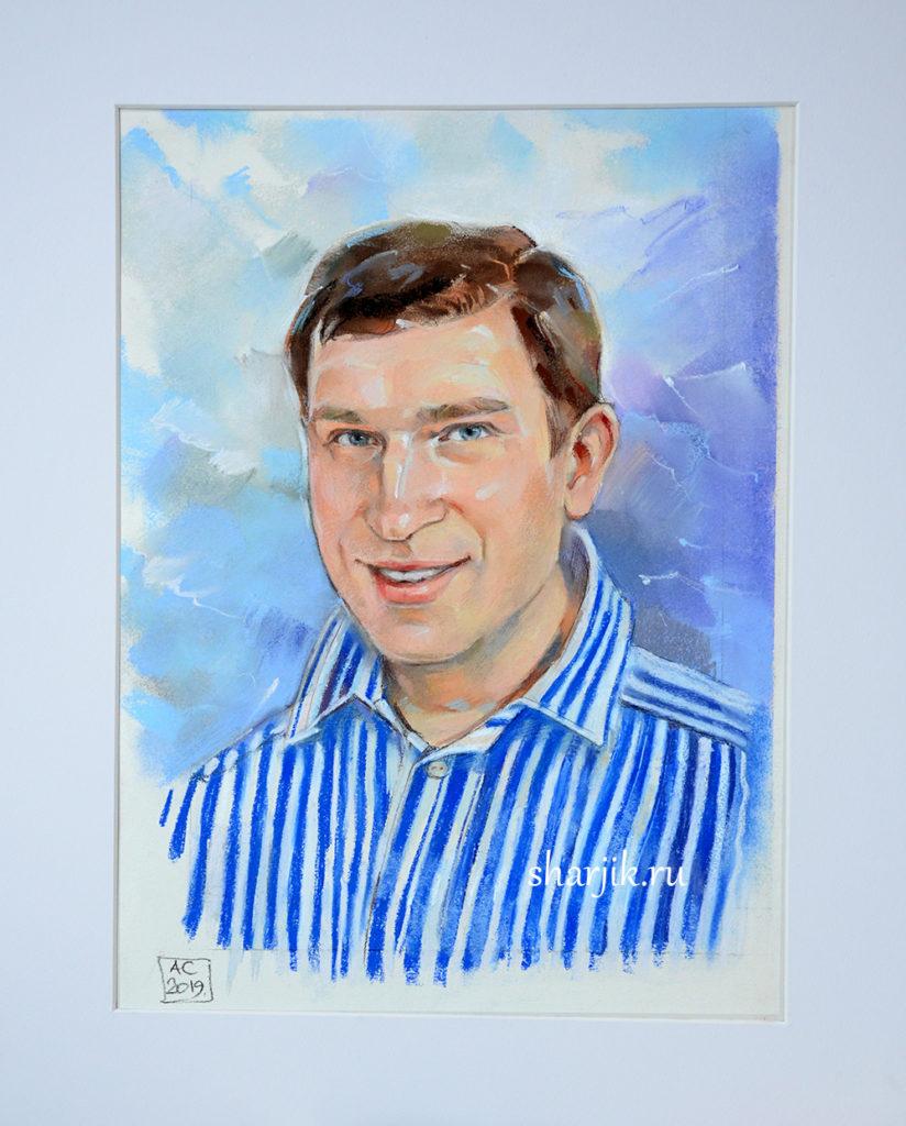 сухая пастель портрет, обычный портрет, портрет спб, потрет питер, заказать портрет по фото