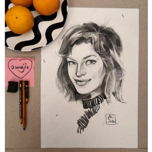 Мила Йовович, актриса, портрет актрисы, актеры по фото