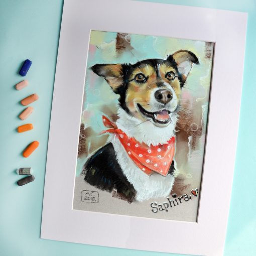 портрет собаки, портрет питомца