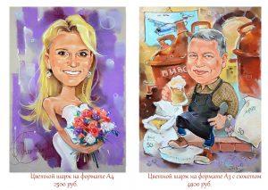 шарж по фото, caricatures, портретный шарж